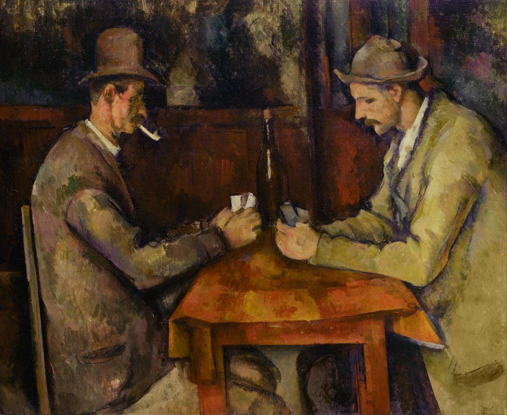 De Kaartspelers, Paul Cézanne