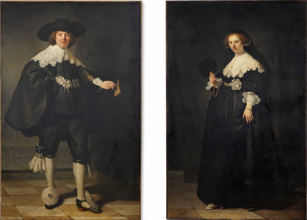 De huwelijksportretten van Marten Soolmans en Oopjen Coppit