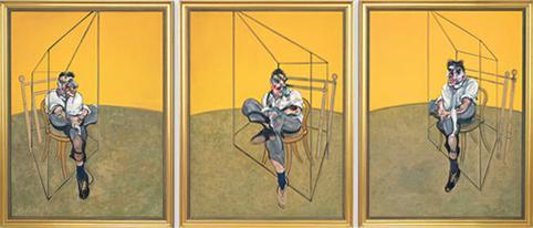 Drie studies van Lucian Freud, Francis Bacon