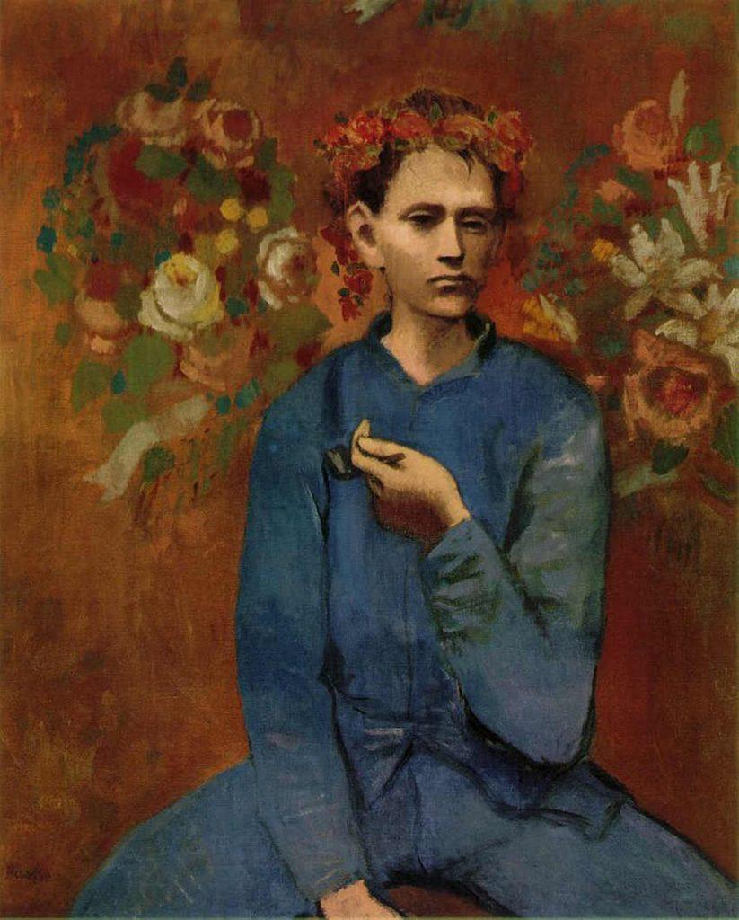 Jongen met pijp (Garçon à la pipe), Pablo Picasso