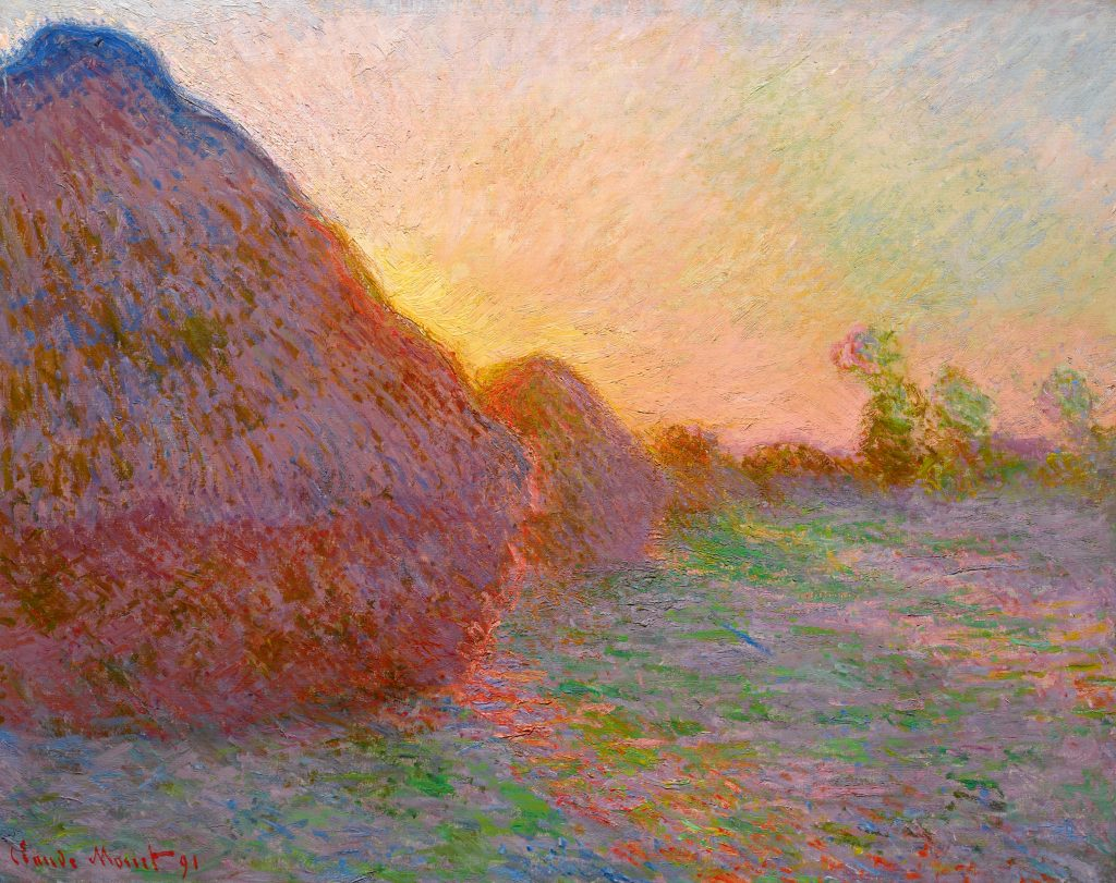 Meules, Claude Monet