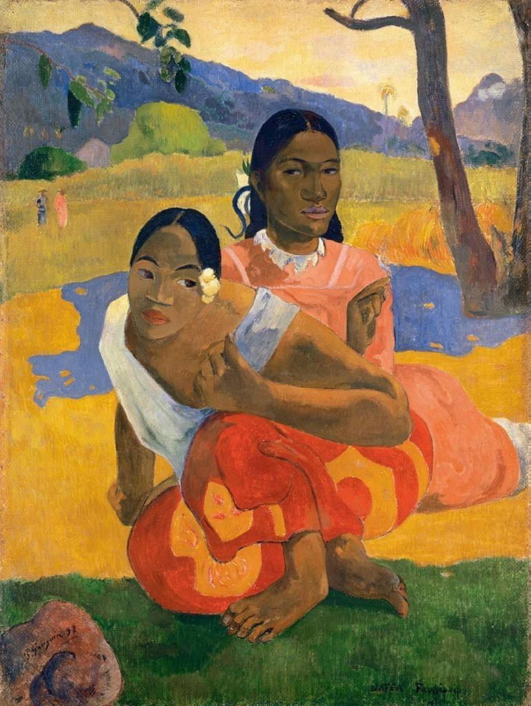 Nafea Faa Ipoipo, Paul Gauguin