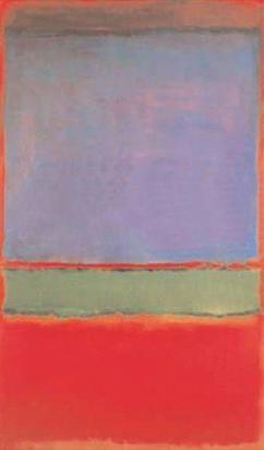 No. 6 (Violet, Green and Red), Mark Rothko