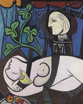 Nu au Plateau de Sculpteur, Pablo Picasso