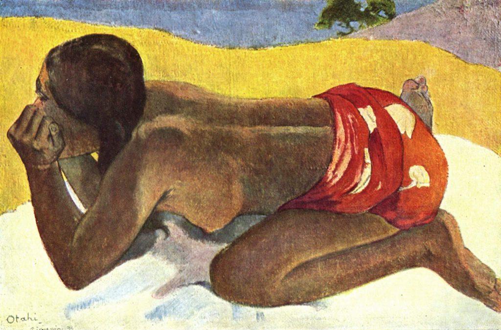 Otahi, Paul Gauguin