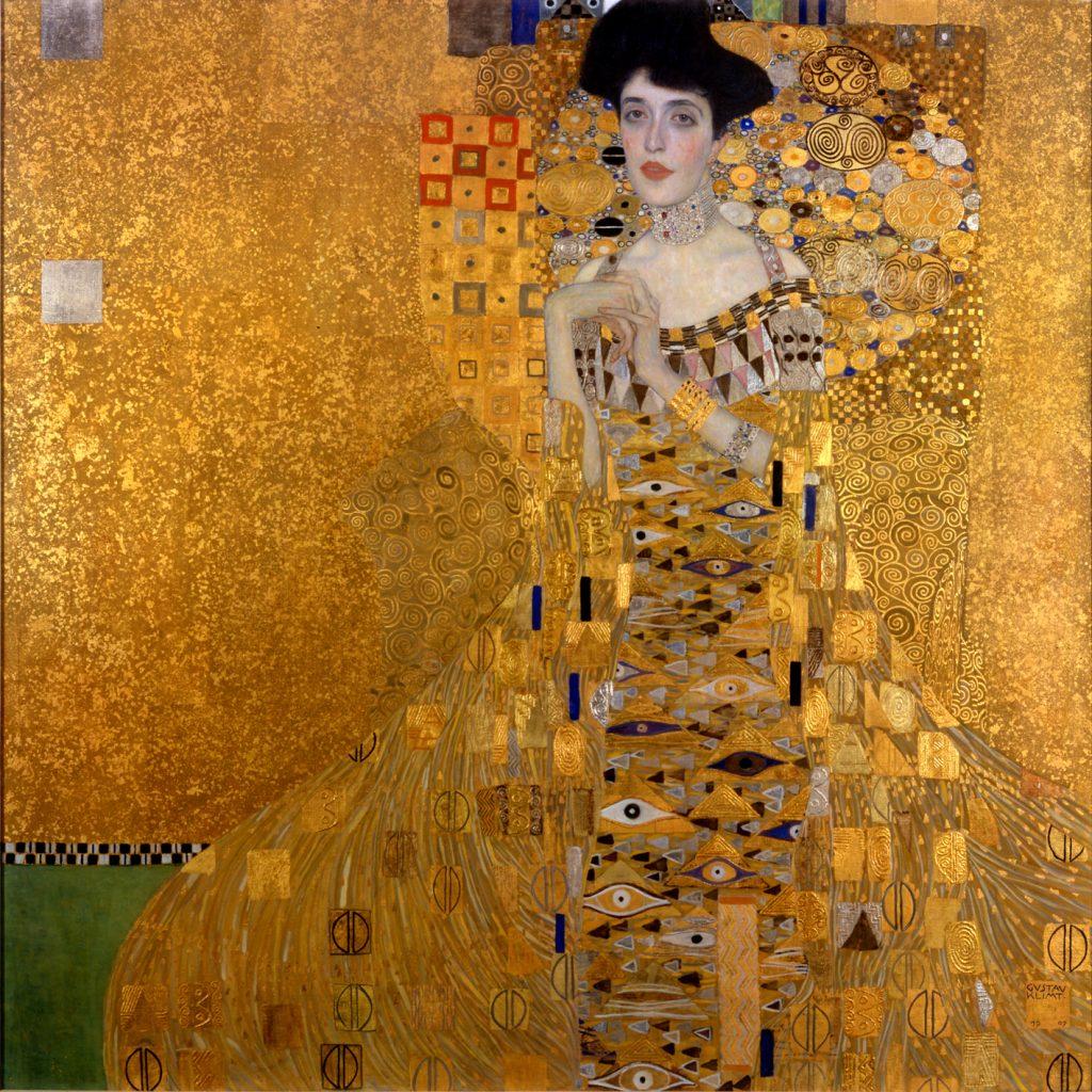 Portret van Adele Bloch-Bauer I, Gustav Klimt