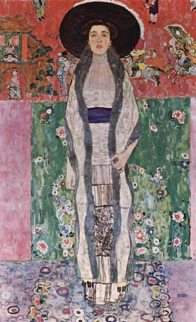 Portret van Adele Bloch-Bauer II, Gustav Klimt