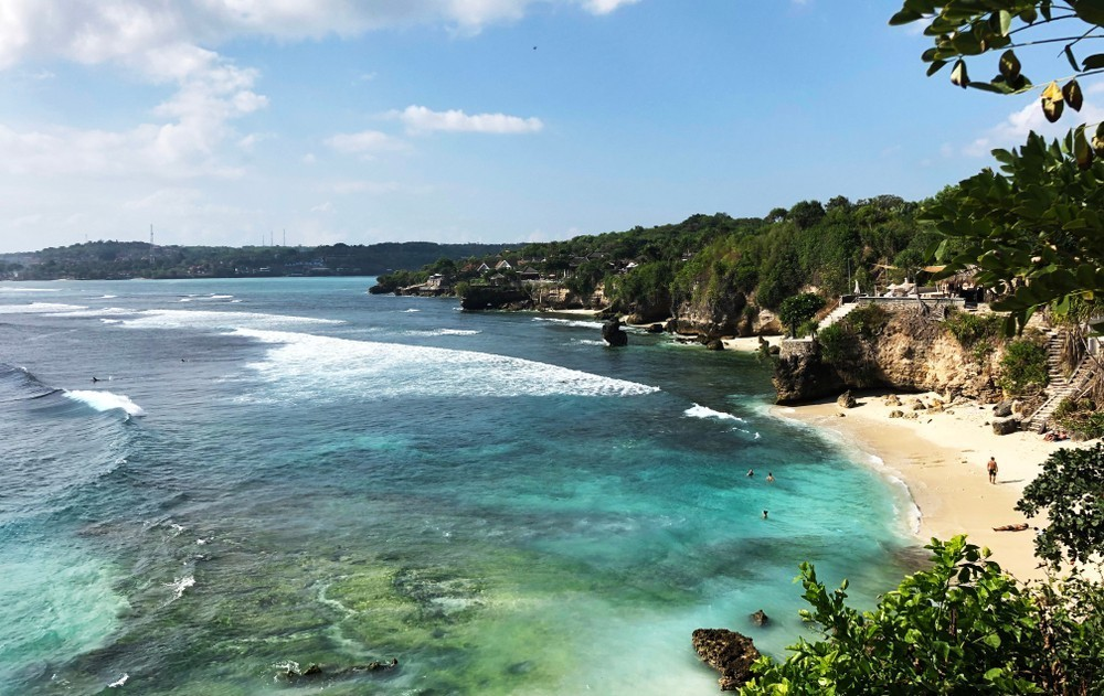 Secret Beach in Nusa Ceningan