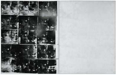 Silver Car Crash (Double Disaster), Andy Warhol