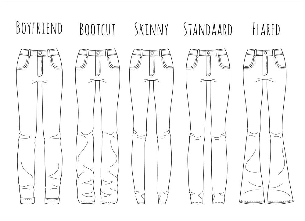 jeans soorten