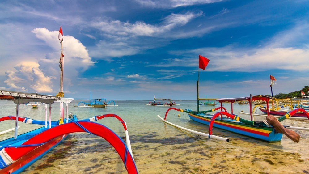 Balinese Jukung boot