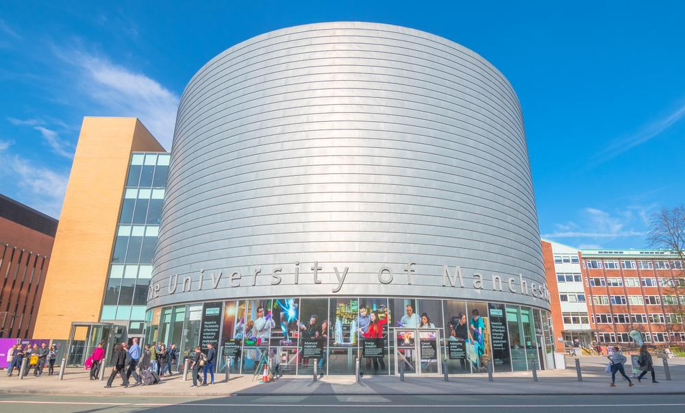 Manchester, Engeland universiteit