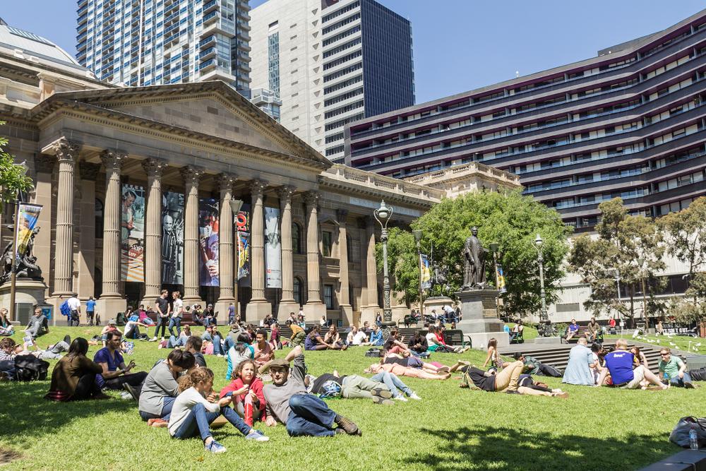 Melbourne studenten