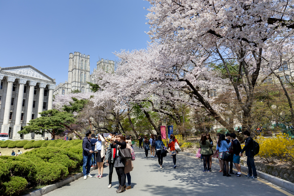 Seoul studenten