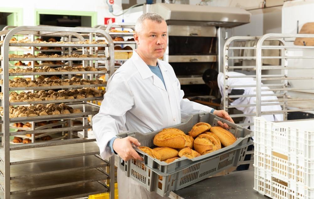 Uitvoerend bakker