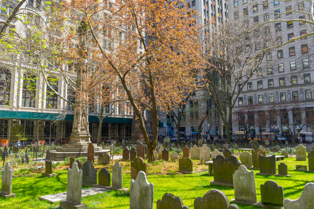 New York Trinity Church Cemetery